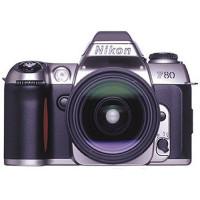 Nikon F80 Spiegelreflexkamera silber inkl. 28-80mm and 70-300mm AF Originalobjektive G-21