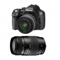 PENTAX K50 Noir + 18-55 DA-L WR + TAMRON 70-300 Di LD-21
