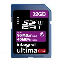 INTEGRAL UltimaPro Speicherkarte 32 GB UHS Class 1 Class10 SDHC UHS I (SD/SDHC INSDH32G10-95/45U1 and 5055288419056)-21