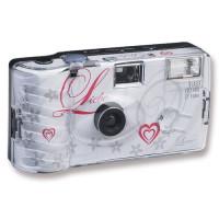 10x Hochzeitskamera Einwegkamera Liebe weiss-22