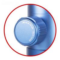 SIRUI C-10X Stativkugelkopf (Alu, Höhe: 83mm, Gewicht: 0.2kg, Belastbarkeit: 4kg) blau mit Wechselplatte TY-C10-22