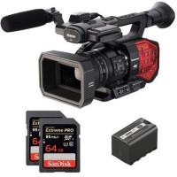 Kit AG-DVX200EJ Camcorder Panasonic 4K + 1 Akku SWIT 6A + 2 Memory Card Sandisk 64 GB 95MBs Microphone not included-21