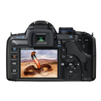 Olympus E-520 SLR-Digitalkamera (10 Megapixel, LifeView, Bildstabilisator) Kit inkl. 14-42mm Objektiv-22