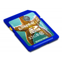 Kingston Technology 32GB SDHC 32GB SDHC Speicherkarte Speicherkarten (SDHC,-25 85 °C, Blau,-40 85 °C, 9-pin SecureDigital (SD), Gold)-22