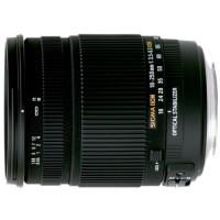Sigma 18-250 mm F3,5-6,3 DC OS HSM Reise-Zoom-Objektiv (72 mm Filtergewinde) für Canon Objektivbajonett-21