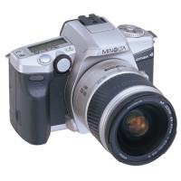 Minolta Dynax 4 Spiegelreflexkamera silber mit Objektiv AF 3,5-5,6 / 28-80mm-22
