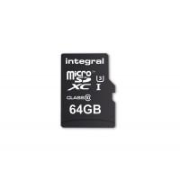 Integral Memory INMSDX64G10-9590NA3R microSDXC Class 10 UltimaPro UHS-1 64GB Speicherkarte mit USB 3.0 Kartenleser-22