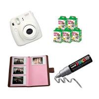 Fujifilm Instax: 1 Box Hochzeit Sofortbildkamera, Fujifilm Instax Mini 8 Filme 100 Fotoalbum 1 Stift-22