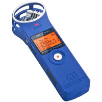 Zoom H1 BL Handy Recorder Blau + APH-1 Zubehörset + KEEPDRUM Fell-Windschutz-22