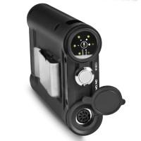 Walimex Pro 20994 Lightshooter 180 Systemblitz Set XL (Blitzgerät 180Ws, Akku 2000mAh, Handstativ, Handgriff und Fernauslöser) schwarz-22