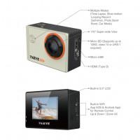 ThiEYE Actioncam 4k WIFI Sport Kamera Action Wasserdichte Helmkamera 170 Weitwinkel 2 Zoll unterstützt 128GB Speicher Karte (i60e Silber)-22