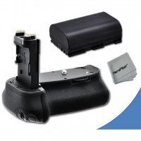High Performance Battery Grip for Canon EOS 60D DSLR Camera plus 1 High Capacity Replacement Canon LP-E6 Battery-22