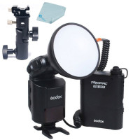 Godox Mcoplus AD360 360W GN80 im Freien nackt Tube Flash + PB960 Power Akku für Nikon Canon Pentax Olympus DSLR-Kamera mit UK-Stecker + Mcoplus Reinigungstuch-22
