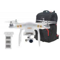 DJI Phantom 3 Professional Quadrocopter mit Zusatzakku und Transport Rucksack-22