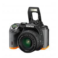 Pentax K-S2 Spiegelreflexkamera (20 Megapixel, 7,6 cm (3 Zoll) LCD-Display, Full-HD-Video, Wi-Fi, GPS, NFC, HDMI, USB 2.0) Kit inkl. 18-50mm WR-Objektiv schwarz/orange-22
