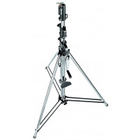 Manfrotto Stativ Wind-Up Silber 3-tlg.-21