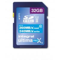 Integral SDHC 32GB Class 10 UltimaPro X UHS-2 class 3 Speicherkarte bis zu 260/240 MB/s read/write-22