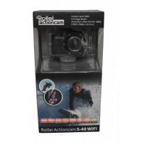 Actioncam Rollei S-40 WiFi Standard Edition, schwarz 40249-22