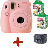 Fuji Instax Mini 8 Rosa Sofortfilmkamera + Tasche + 40 Fotos + Infapower NiMH-Akkus und Ladegerät (Sofortige Fotos in Kreditkartengröße Fangen Sie den Augenblick und gemeinsam den Spaß.).-22
