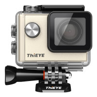 AcTopp ThiEYE Sportkamera i60 Neu Version 1080P 2.7k Full HD Outdoor-Actionkamera Wifi 152°Weitwinkel mit Waterproof Case Fernbedienung Schwarz/Gold (Gold)-22