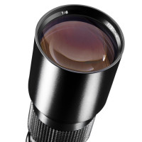 Walimex 500mm 1:8,0 DSLR-Objektiv (Filtergewinde 67mm, Teleobjektiv, Linsenobjektiv) für Minolta MD Bajonett schwarz-22