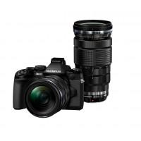 Olympus OM-D E-M1 Systemkamera (16 Megapixel, 7,6 cm (3 Zoll) TFT LCD-Display, Full HD, HDR) Kit inkl. M.Zuiko Digital ED 12-40 mm und 40-150 mm f2,8 Top Pro Objektiv schwarz-21