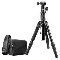 Mantona Set für Systemkamera Maxi inkl. Systemkameratasche Irit, Reisestativ DSLM und Kugelkopf-22
