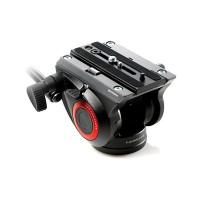 Manfrotto MVH500AH Kompakt Fluid Videoneiger (Inkl. flacher Basis (1/4 Zoll) und (3/8 Zoll) Gewinde) schwarz-22