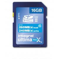Integral SDHC 16GB Class 10 UltimaPro X UHS-2 class 3 Speicherkarte bis zu 260/240 MB/s read/write-22
