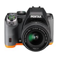 Pentax K-S2 20MP DSLR Bastelsatz 18-50mm WR (BLACK×ORANGE)-22