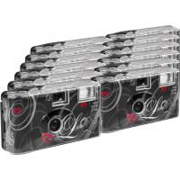 TopShot Love black Einwegkamera / Hochzeitskamera (27 Fotos, Blitz, 12-er Pack)-21