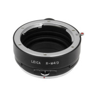 Fotodiox Pro Shift Objektivadapter (Lens Mount Adapter), Leica R Objektiv auf MFT Micro 4/3 Four Thirds Fourhirds System Kamera Mount Adapter, für Olympus Pen E-PL1, E-PL2, E-P1, E-P2, Panasonic Lumix DMC-G1, G2, GH2, GF1, GH1 G10-21