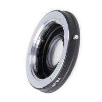 Leinox 902C AD-Adapterring für Minolta MD-Objektive auf Sony/Minolta AF, Schwarz-21
