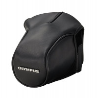 Olympus CS-36 FBC Kameratasche (Leder) für E-M5 OM-D schwarz-21