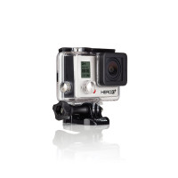 GoPro Actionkamera Hero 3 Plus Black Edition Motorsport, Schwarz, 3660-021-22