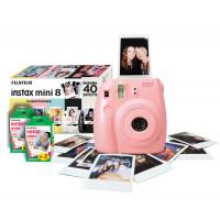 Instax Mini 8 Pink Instant Camera inc 40 Shots-22