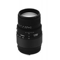 Sigma 70-300 mm F4,0-5,6 DG Makro-Objektiv (58 mm Filtergewinde) für Minolta / Sony Objektivbajonett-21