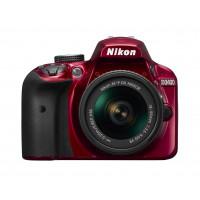 Nikon D3400 Kit rot + AF-P 18-55 VR-22