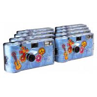 TopShot Flower Power Einwegkamera (27 Fotos, Blitz, 8-er Pack)-21