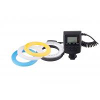 Carat electronics Makro LED Ringlicht für Canon, Nikon, Panasonic, Olympus, Fujifilm Spiegelreflexkameras / CSC-22
