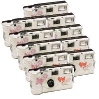 10x PHOTO PORST Hochzeitskamera mit Schmetterling / Einwegkamera / Partykamera (je 27 Fotos, mit Blitz, 10-er Pack)-22