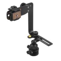 Mantona PanoPoint Panoramakopf mit Nodalpunkt-Adapter schwarz-22