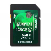 128 GB SDXC Class 10 Speicher Karte für Canon EOS-22
