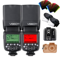 Godox VING v860iin 2,4 G GN60 I-TTL HSS 1/8000s Flash Akku Li-Ion Kamera Speedlite mit x1 N Wireless Flash Trigger Eigenschaften 1,5 Sekunden blitzfolgezeit 650 Ful Power-Pops für Nikon DSLR Kameras-22