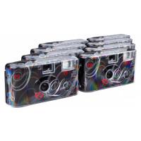 TopShot Love Einwegkamera (27 Fotos, Blitz, 8-er Pack) schwarz-21