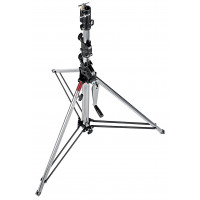 Manfrotto Stativ Wind-Up Kurz Sil. 3-tlg-21