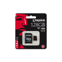 Kingston SDCA3/128GB microSDHC/SDXC 128GB Speicherkarte mit Adapter (UHS-I U3, 90R/80W)-22