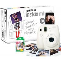Fujifilm INSTAX MINI8 Sofortbildkamera inkl. 20 Instax Mini Film 62x46mm weiss-21