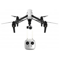 DJI DJIIN1R Inspire 1 Aerial UAV Quadrocopter Drohne mit Integrierter 4K, Full-HD Videokamera, Digitaler Fernsteuerung schwarz/weiß-22