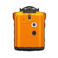 Ricoh WG-M2 kompakte und leichte Actioncam (4K-Video, 204 Grad Ultraweitwinkel-Objektiv) orange-22
